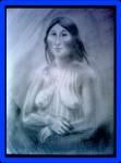 Obras de arte: America : Chile : Los_Lagos : puerto_montt : Desnudo Selknam