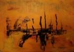 Obras de arte: America : Uruguay : Montevideo : Montevideo_ciudad : Lo que queda