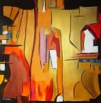 Obras de arte: Europa : Portugal : Lisboa : Sintra : DOURADOS XIV