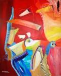 Obras de arte: Europa : Portugal : Lisboa : Sintra : P�SSAROS
