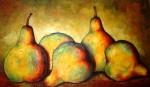 Obras de arte: America : Colombia : Antioquia : Medellín : Peras