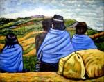 Obras de arte: America : Colombia : Antioquia : Medellín : Familia Guambiana