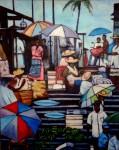 Obras de arte: America : Colombia : Antioquia : Medellín : Mercado en Buenaventura