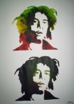 Obras de arte: America : Argentina : Buenos_Aires : ADROGUE : Stencils Marley