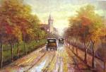 Obras de arte: America : Chile : Region_Metropolitana-Santiago : region_metropolitana : camino otoñal