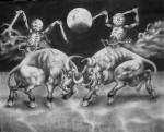 Obras de arte: America : México : Jalisco : Guadalajara : LA CONFRONTACION DE LA SANGRE