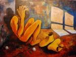 Obras de arte: America : Ecuador : Azuay : Cuenca : EN UN RINCON