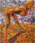 Obras de arte: America : Ecuador : Azuay : Cuenca : MUJER POSANDO