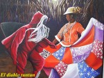 Obras de arte: America : Panamá : Colon-Panama : Barrio_Sur : El diablo TUNTUN.