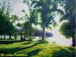 Obras de arte: America : Panamá : Colon-Panama : Barrio_Sur : Mi costas caribeñas de Colón.