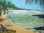 Obras de arte: America : Panamá : Colon-Panama : Barrio_Sur : Mi costa caribeñas de Colón