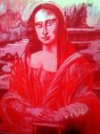 Obras de arte: America : Argentina : Cordoba : cordoba_capital : Mona Lisa en Rojo