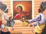 Obras de arte: America : Panamá : Colon-Panama : Barrio_Sur : Cufriando