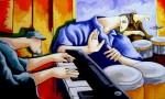 Obras de arte: America : Colombia : Antioquia : Medellin : NEGRAS Y BLANCAS