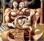 Obras de arte: America : Argentina : Cordoba : Rio_cuarto : El inevitable ocaso del animal: el origen del nuevo hombre