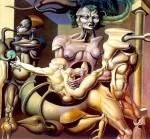 Obras de arte: America : Argentina : Cordoba : Rio_cuarto : El inevitable ocaso del animal: el origen del nuevo hombre II