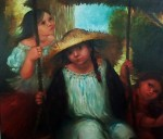 Obras de arte: America : Panamá : Veraguas : Santiago_de_Veraguas : INFANCIA