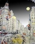 Obras de arte: Europa : España : Madrid : Madrid_ciudad : La Gran Vía