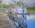 Obras de arte: Europa : España : Catalunya_Barcelona : Barcelona : Lago de Banyoles