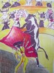 Obras de arte: Europa : España : Extremadura_Badajoz : badajoz_ciudad : TORO-TORERO I