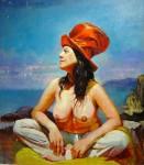 Obras de arte: America : Argentina : Buenos_Aires : Ciudad_de_Buenos_Aires : La Mujer del Sombrero Rojo lll