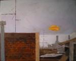 Obras de arte: Europa : Espa�a : Catalunya_Barcelona : Barcelona : Aurora sobre los tejados