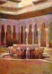Obras de arte: Europa : España : Andalucía_Granada : Granada_ciudad : Patio de los Leones