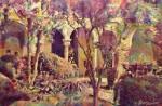 Obras de arte: Europa : España : Andalucía_Granada : Granada_ciudad : Jardines del Generalife