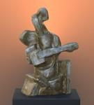 Obras de arte: America : Argentina : Buenos_Aires : Vicente_Lopez : El Guitarrista-2009