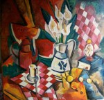 Obras de arte: America : Argentina : Buenos_Aires : Capital_Federal : jarra con calas