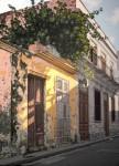 Obras de arte: America : Cuba : Matanzas : naranjal : ´´como el sol pinta 1 calle empedrado´´