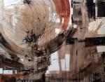 Obras de arte: Europa : España : Catalunya_Girona : La_Escala : UN LUNES DE VERANO EN LA CIUDAD