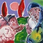 Obras de arte: Europa : Francia : Nord-Pas-de-Calais : LONGUENESSE : L'annonce à Marie 5