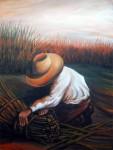 Obras de arte: America : Argentina : Buenos_Aires : Quilmes : ATANDO JUNCOS