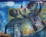 Obras de arte: America : México : Mexico_Distrito-Federal : Coyoacan : CARA SONRIENTE