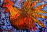 Obras de arte: America : Chile : Bio-Bio : Concepción : Pollo Rojo