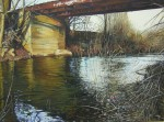 Obras de arte: Europa : España : Castilla_La_Mancha_Toledo : QUINTANAR : EL VIEJO PUENTE