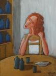 Obras de arte: Europa : Espa�a : Islas_Baleares : Ibiza : El caf� 2