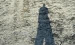 Obras de arte: America : México : Tamaulipas : Rio_Bravo : Mi sombra en el desierto