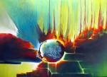 Obras de arte: America : Argentina : Misiones : Posadas : De la serie de los atrapasueños 1