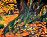 Obras de arte: Europa : Espa�a : Extrmadura_C�ceres : plasencia : Los Guardianes del Bosque, Ambroz 1