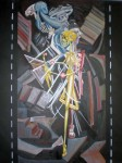 Obras de arte: America : México : Mexico_Distrito-Federal : Mexico_D_F : Muerte bajando una escalera
