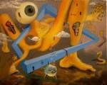 Obras de arte: America : Ecuador : Azuay : Cuenca : MIRANDO EL DOLOR