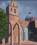Obras de arte: America : México : Michoacan_de_Ocampo : Morelia : Templo del Carmen enMorelia