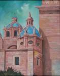 Obras de arte: America : México : Michoacan_de_Ocampo : Morelia : Cupulas de la Catedral de Morelia