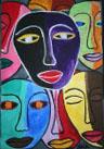 Obras de arte: America : Cuba : Santiago_de_Cuba : Palma_Soriano : Miradas y Pensamientos