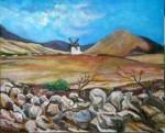 Obras de arte: Europa : España : Canarias_Las_Palmas : Maspalomas : Molino de Fuerteventura