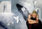 Obras de arte: America : Uruguay : Montevideo : Montevideo_ciudad : LA ENSOÑACIÓN DEL ANGEL