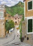 Obras de arte: Europa : España : Andalucía_Jaén : jaen : paisaje Valdemosa