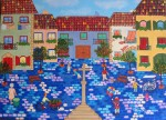 Obras de arte: Europa : España : Madrid : alcala_de_henares : Plaza de Santa Cruz